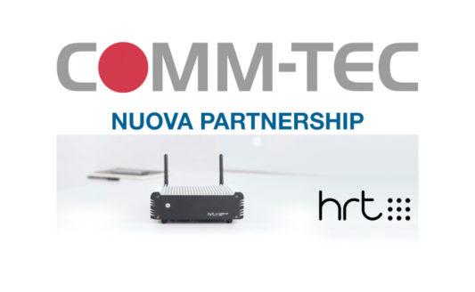 Il portfolio Comm-Tec Italia si amplia con gli hub prodotti da HRT