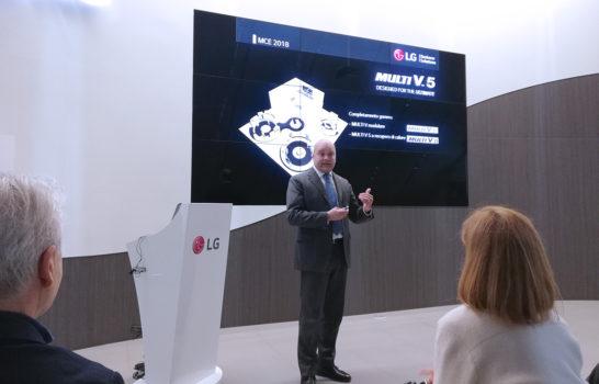 HVAC alla massima efficienza: LG a MCE 2018 con tutte le novità