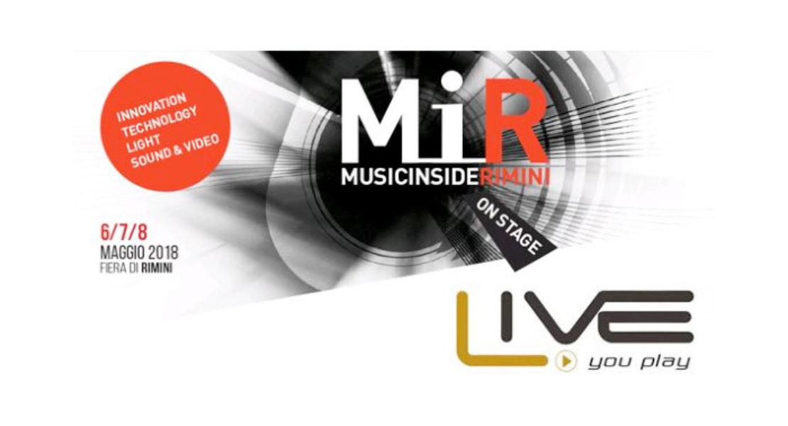 Exhibo a Rimini per MIR e Live You Play con le ultime novità del settore pro