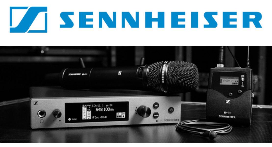 Evolution Wireless G4 di Sennheiser: il lancio a Roma il 18 aprile