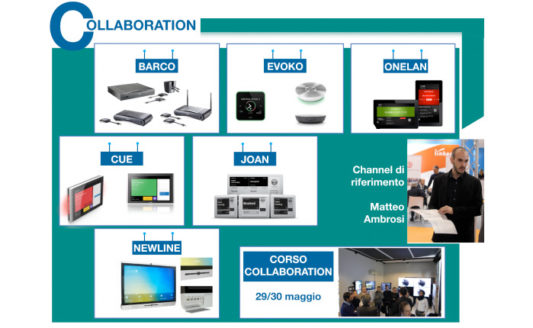 Collaboration, con Comm-Tec un portfolio di brand all'avanguardia