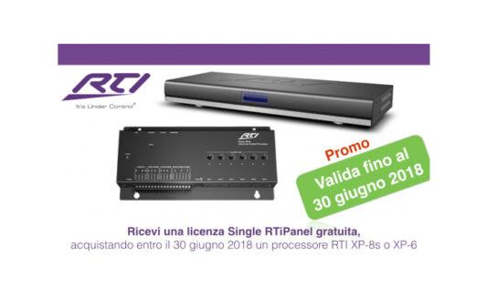 Speciale promo RTI, con il processore una licenza è in regalo