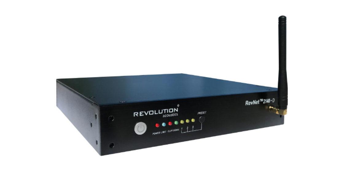 Ampia dinamica per tutti gli usi: è il nuovo ampli RevNet 2140