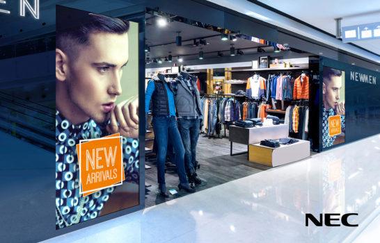 NEC Display Solutions presenta la serie V MultiSync® per una straordinaria visione extralarge