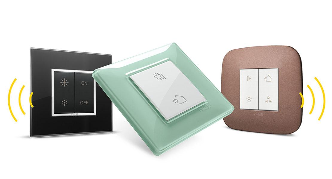 Nuovi comandi wireless Vimar, senza batterie e universali grazie al Bluetooth e ZigBee