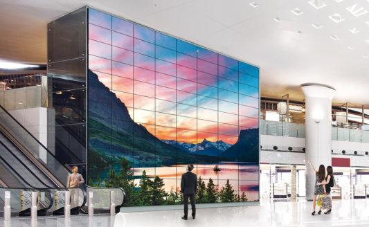 Monitor Signage LG, la comunicazione è più innovativa con videowall e schermi Ultra HD