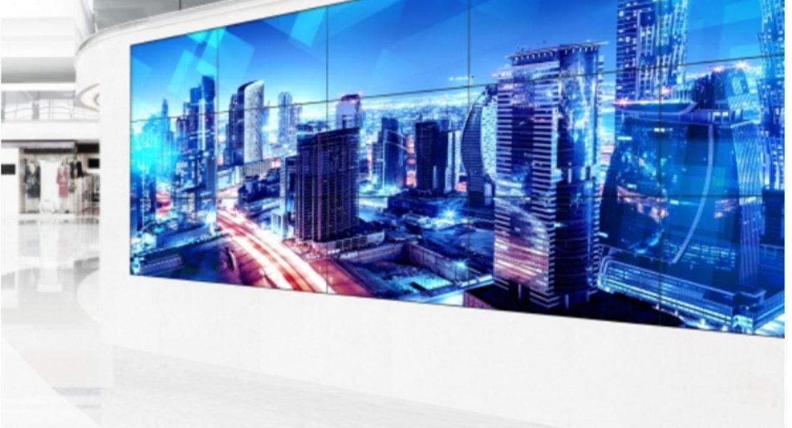 Schermi ShadowSense Panasonic, sei modelli touch-screen pronti per il videowall
