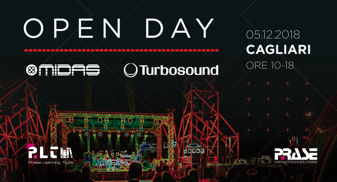 Open Day Midas Turbosound – Cagliari