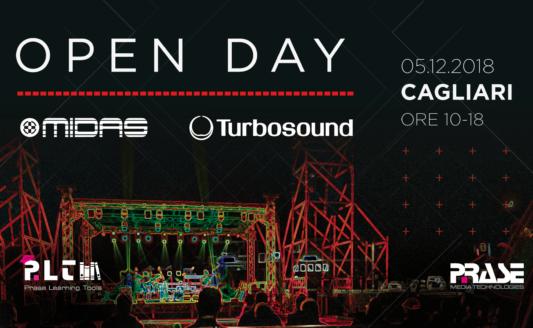 Open Day Midas Turbosound – Cagliari