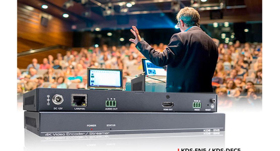 Kramer KDS-EN5 e KDS-DEC5, perfetti per il 4K60p con compressione H.264