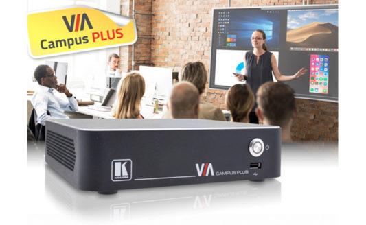 Kramer VIA Campus Plus, presentazioni e collaboration da oggi wired & wireless
