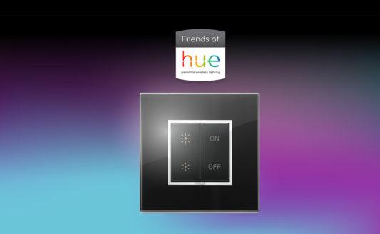 Nuovi Comandi RF Vimar Friends of Hue, prende forma la partnership con Philips Lighting