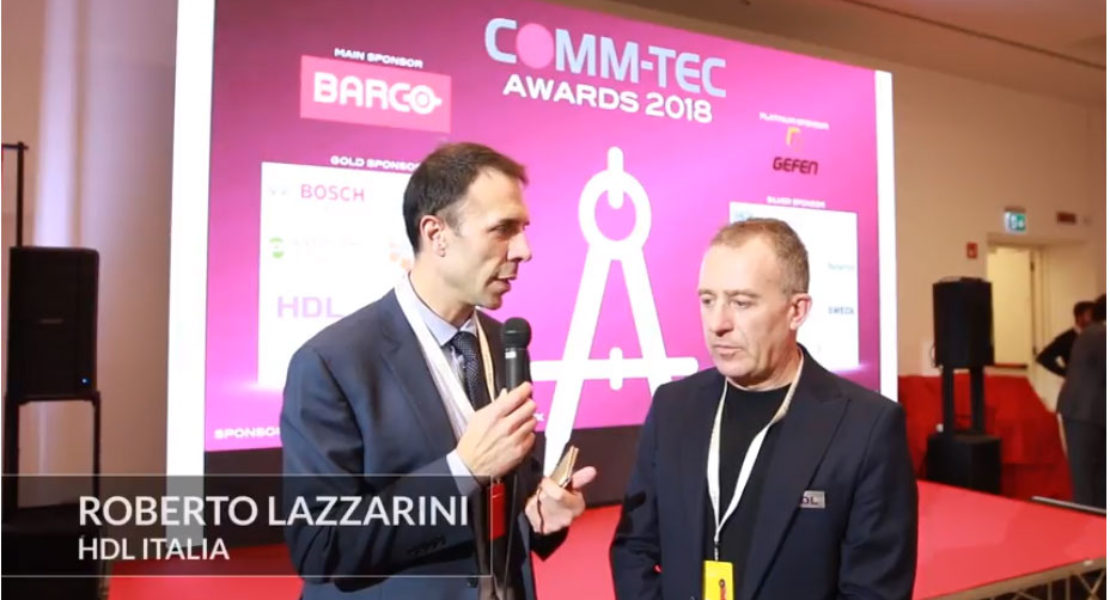 Comm-Tec Awards 2018 – Intervista a Roberto Lazzarini