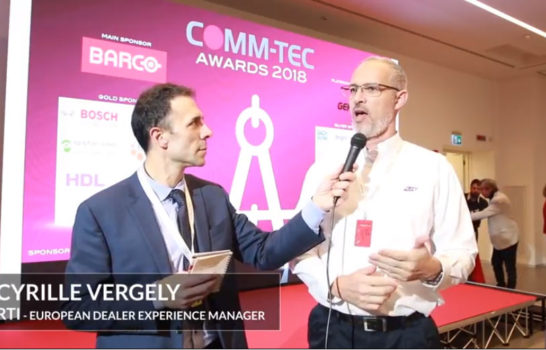 Comm-Tec Awards 2018 – Intervista a Cyrille Vergely