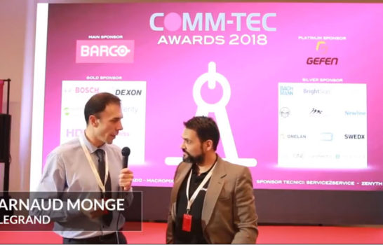 Comm-Tec Awards 2018 – Intervista a Arnaud Monge