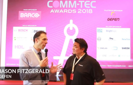 Comm-Tec Awards 2018 – Intervista a Jason Fitzgerald