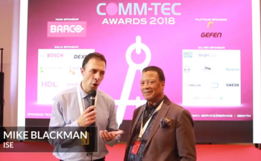Comm-Tec Awards 2018 – Intervista a Mike Blackman