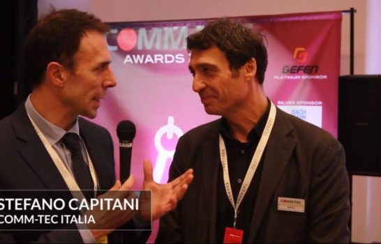 Comm-Tec Awards 2018 – Intervista a Stefano Capitani