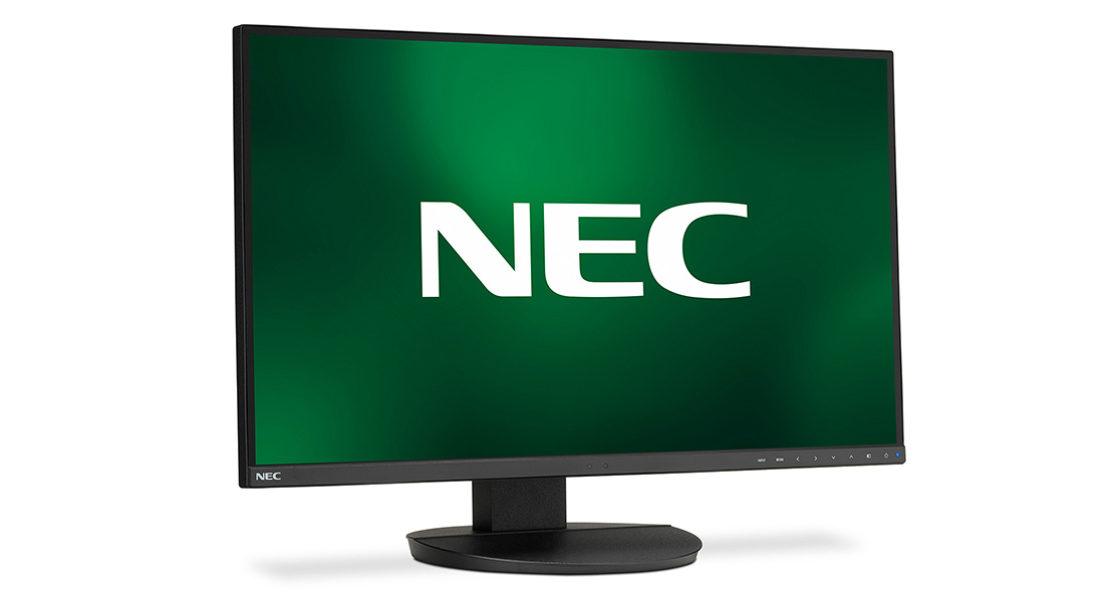 """NEC presenta il nuovo desktop display da 27"""", pronto per l'ufficio future-proof"""