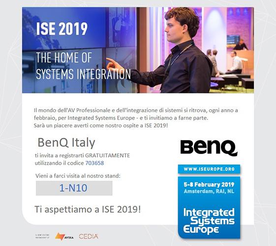 BenQ ISE 2019