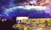 LG OLED Falls: 260 schermi creano un'onda travolgente per i visitatori del CES