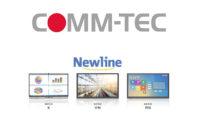 Newline, i nuovi display interattivi sono adatti a tutti gli usi