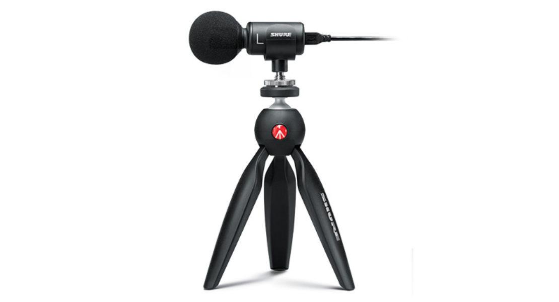 Shure MV88+ Video Kit, audio di alta qualità anche in movimento