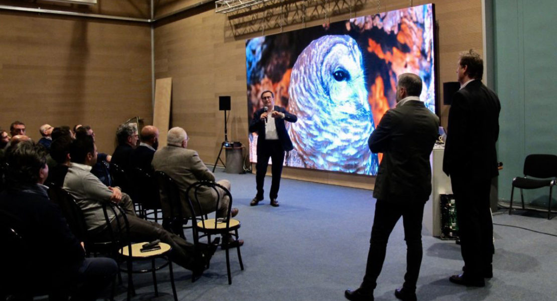 Nuova partnership con digiLED: Prase entra nell'universo LED Wall