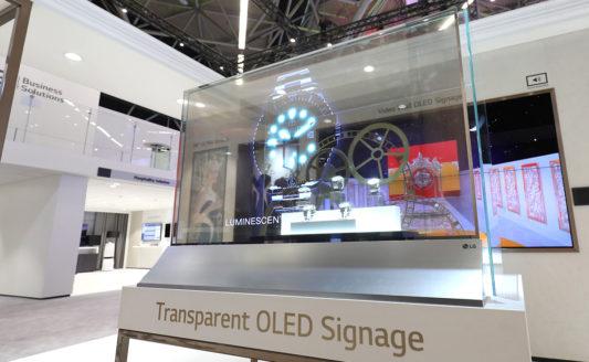 LG porta l'avanguardia tecnologica dei suoi Information Display a ISE 2019