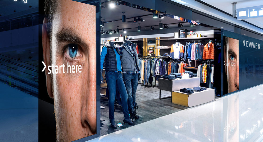 Con NEC il digital signage entra prepotentemente nel retail