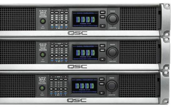 QSC, l'amplificatore che sa fare rete