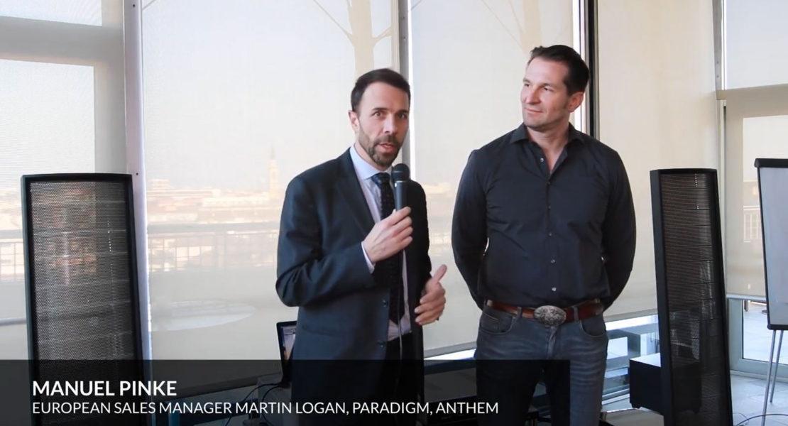 Audiogamma – Presentazione prodotti Martin Logan e Anthem