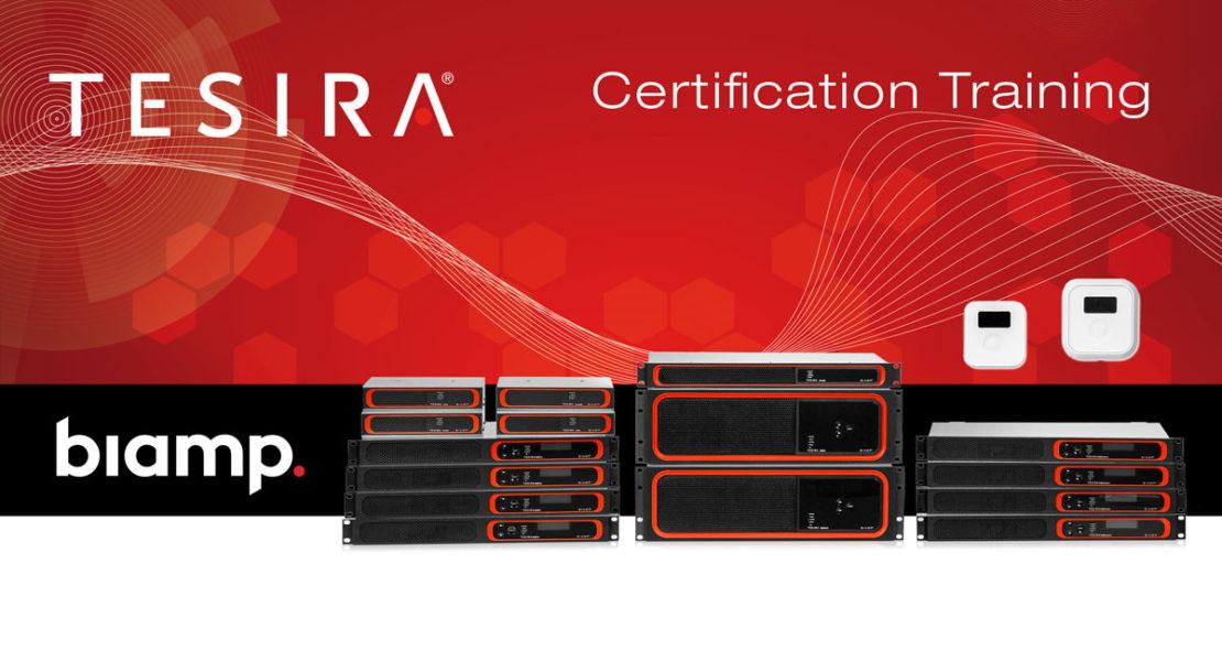 Biamp Tesira | Certification Training 2019
