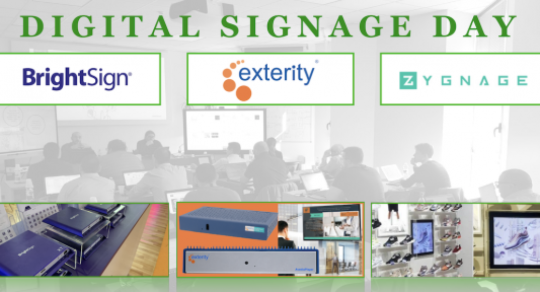 COMM-TEC Digital signage day