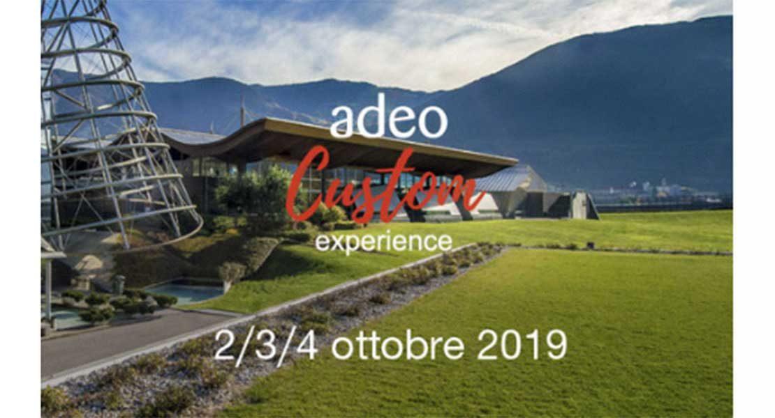 Adeo Custom Experience 2019, ancora 3 giorni di novità, workshop e tempo libero
