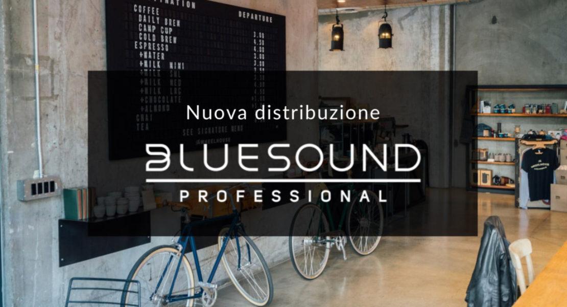 Prase acquisisce la distribuzione di Bluesound Professional