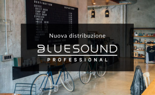 Prase acquisisce la distribuzione di Bluesound Professional