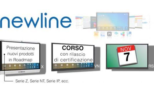 COMM-TEC. 7 novembre – corsodi certificazioneNewline