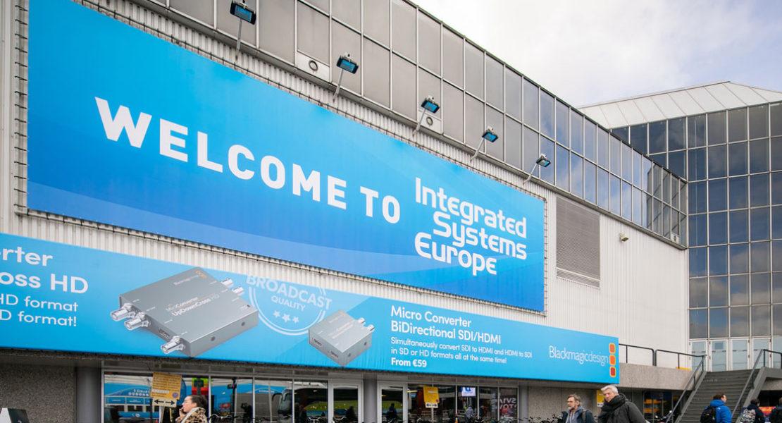 Integrated Systems Europe – 11-14 febbraio 2020 – Amsterdam