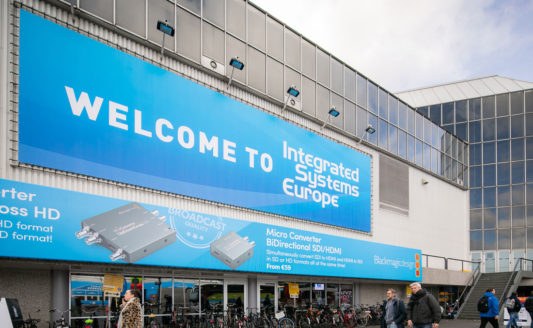 Integrated Systems Europe – 11-14 febbraio 2020 – Amsterdam