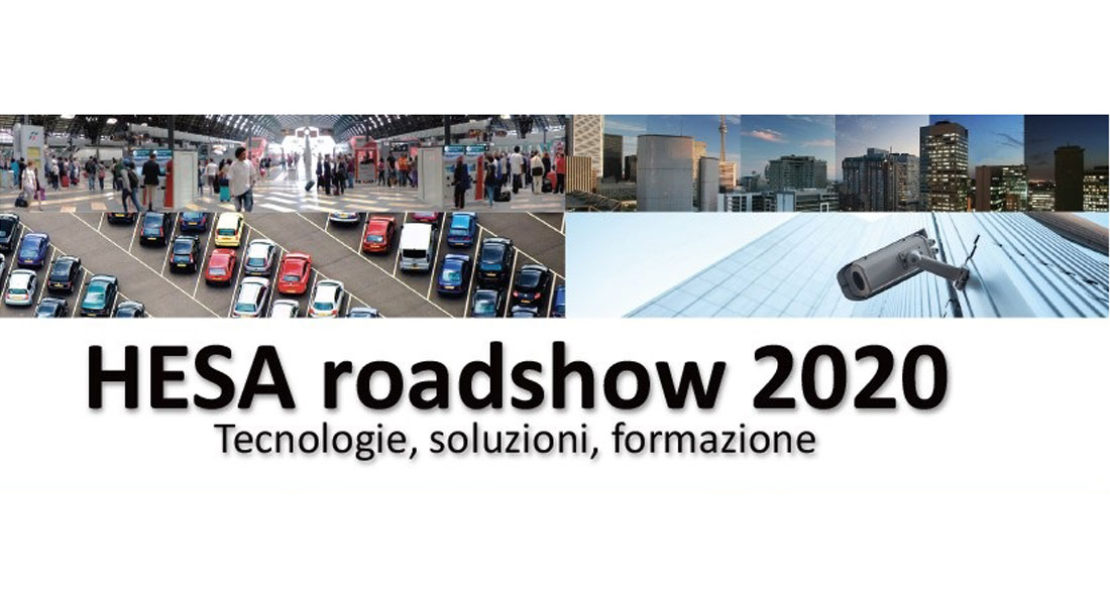 HESA ROADSHOW 2020 – Tecnologie, soluzioni, formazione