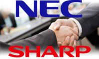 NEC Sharp partnership 2020