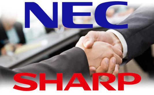 NEC Sharp partnership 2020