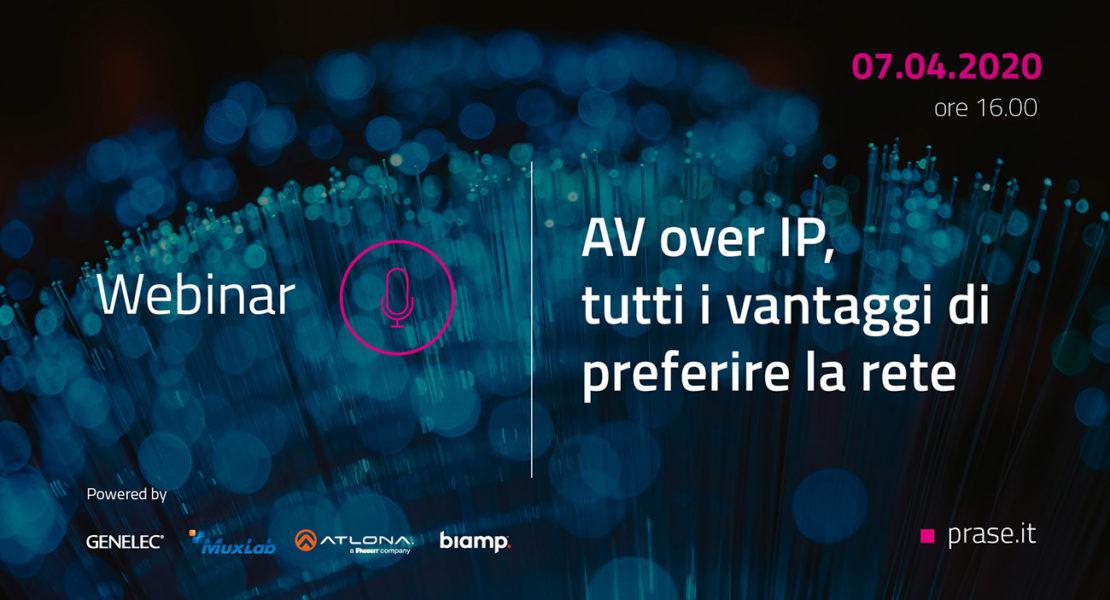 Webinar AV over IP Prase