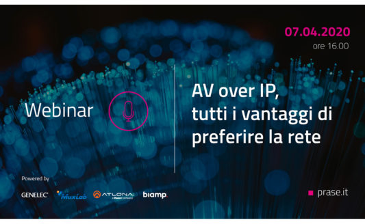 Webinar AV over IP Prase