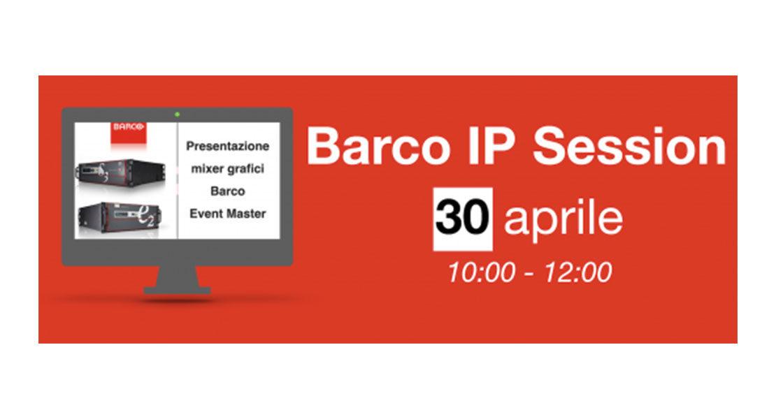 Barco Event Master Series: S3 ed E2 – Corso per Operatori