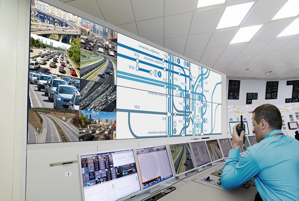 Panasonic Serie VF2 - control room