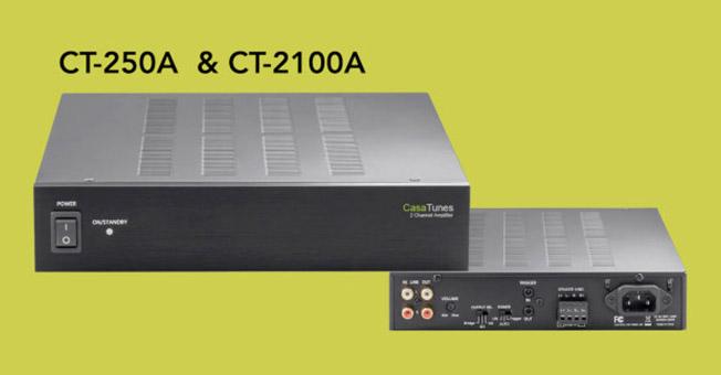 CasaTunes CT250A e CT-2100A