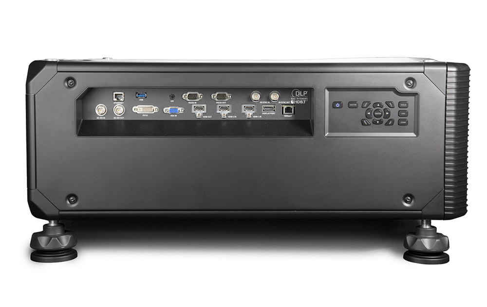 Barco videoproiettore G100 - vista laterale