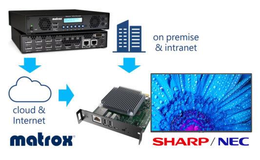 NEC MediaPlayer Matrox Maevex 6100